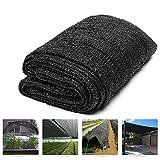 Originline Shade Cloth 6x50ft Black 30% UV Resistant Outdoor Sun Screens for Plants/Pergola/Patio/Lawn/Garden/Greenhouse/Carport/Porch Cut Edge