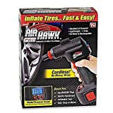 Air Hawk Pro Cordless Portable Air Compressor, Easy-To-Read Digital Pressure Gauge