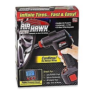 Amazon.com: Air Hawk Pro Cordless Portable Air Compressor