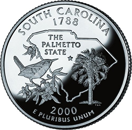 2000 South Carolina – P State Quarter Roll