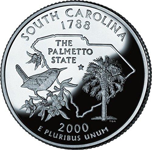 2000 South Carolina   P State Quarter Roll