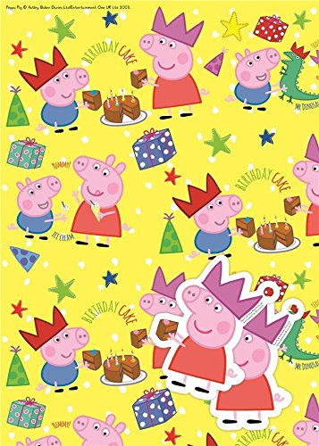 (Peppa Pig Gift Wrap)