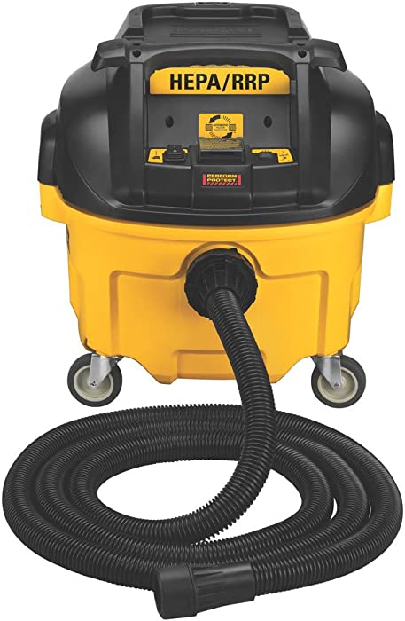 DEWALT Dust Extractor, Automatic Filter Cleaning, 8-Gallon (DWV010)