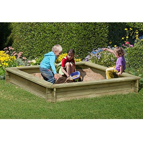 Sandkasten-180-x-180-x-30-cm-aus-Holz-30-mm-imprgniert-von-Gartenpirat