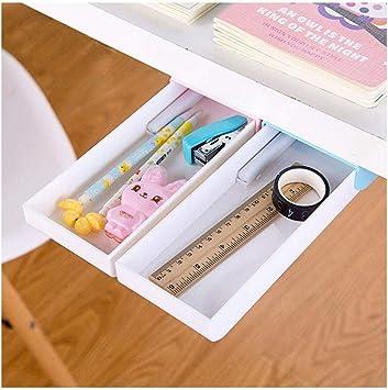 Under Desk Pencil Drawer ORGANIZER Storage Desk Tray Box Mount self adhesive
