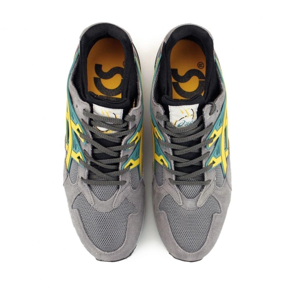 ASICS Herren Gel Kayano h502 N-1159 Trainer, UK UK UK 4, Grau Gelb Lime, UK4 8a16a1