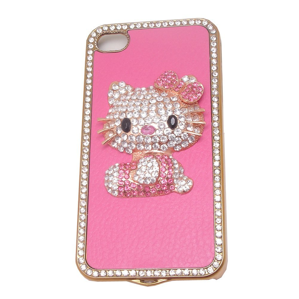 Hello Kitty Luxury Pink leathe...