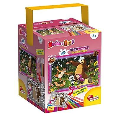 Lisciani Giochi Puzzle In A Tub Maxi Masha All Friends 48 Pezzi Multicolore 53902