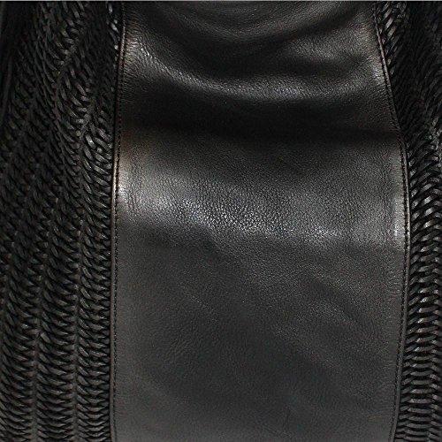 42 x 39 Sac Black cm Metallic main pour Nero femme House Noir BxHx 6 x Reptile's à P6FxgwqF
