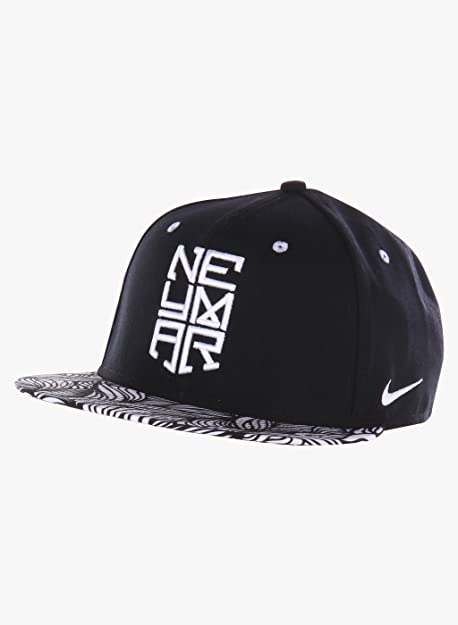 Nike Neymar True Cappello con Visiera Unisex, Colore: Nero