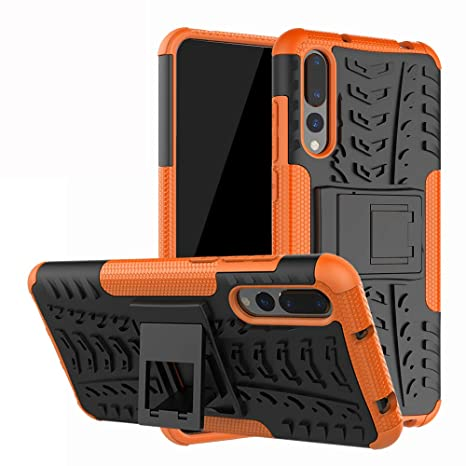 preview of various styles size 40 Labanema Huawei P20 Pro Coque, Etui Housse Coque Shockproof Robuste Impact  Armure Hybride Béquille Cover pour Huawei P20 Pro-Orange