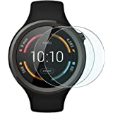 Wimaha 2 Pack Moto 360 Sport Glass Screen Protector Tempered Glass Screen Protectors for Motorola Moto 360 Sport