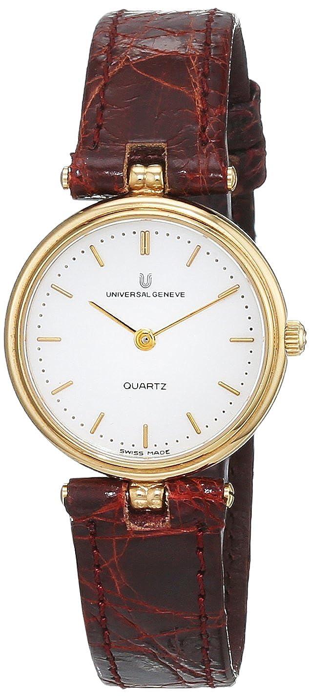 Universal Reloj Análogo clásico para Mujer de Cuarzo con Correa en Cuero 516615/3: Amazon.es: Relojes