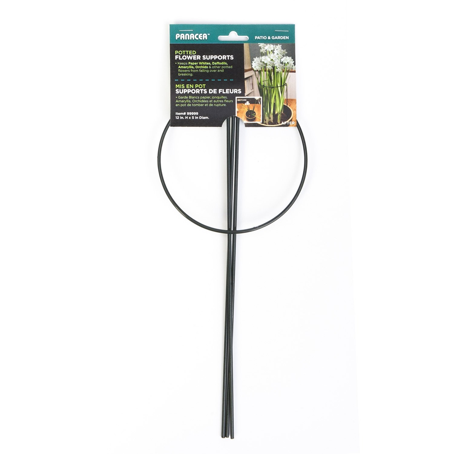 Panacea 86880 12'' H X 5'' Dia 3L Potted Plant Support