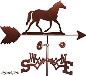 SWEN Products Hand Made Quarter Horse Garden Stake Weathervane ~New~