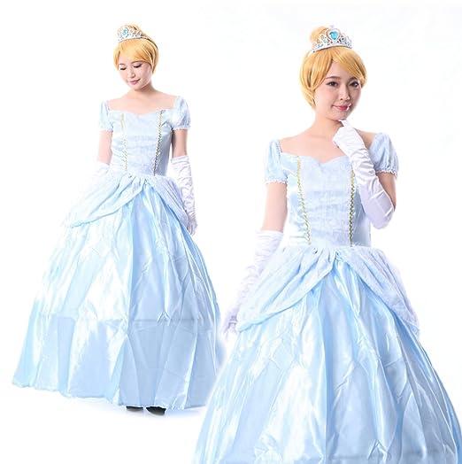 2b1fd4001bde2 monoii シンデレラ コスプレ ハロウィン 衣装 コスチューム プリンセス ドレス 421