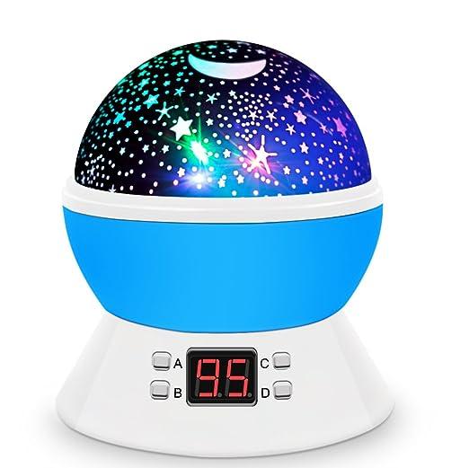 MOKOQI Rotating Star Night Lamp
