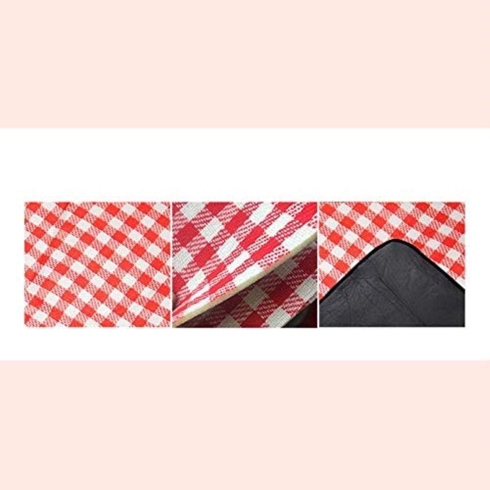 YYF Durevole Picnic Mat Beach Blanket Esterna Coperta da Picnic Portatile Impermeabile Plaid Classic 150 × 200 Centimetri Impermeabile (Color : D) B