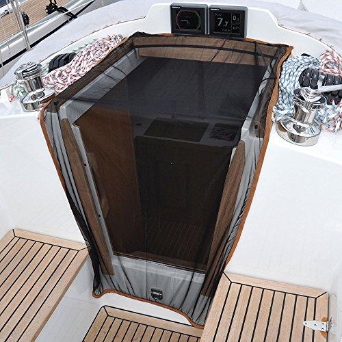 (Waterline Design Boat Campanionway Mosquito Net 35