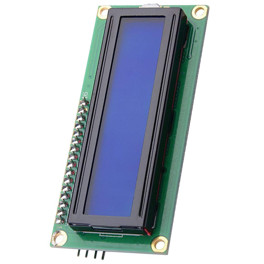 LGDehome IIC/I2C/TWI LCD 1602 16x2 Serial Interface Adapter Module Blue Backlight for Arduino UNO R3 MEGA2560 by LGDehome (Image #1)