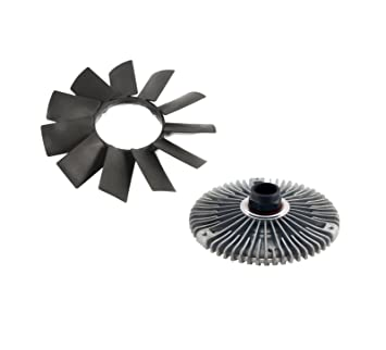 Amazon.com: BMW. Kit de ventilador de embrague y hoja de ...