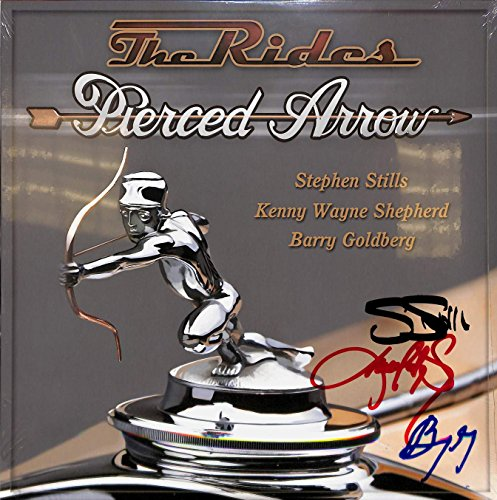 The Rides Signed Album [Stephen Stills, Kenny Wayne Shepherd]. Signed by all 3 on cover (with PSA/DNA COA).