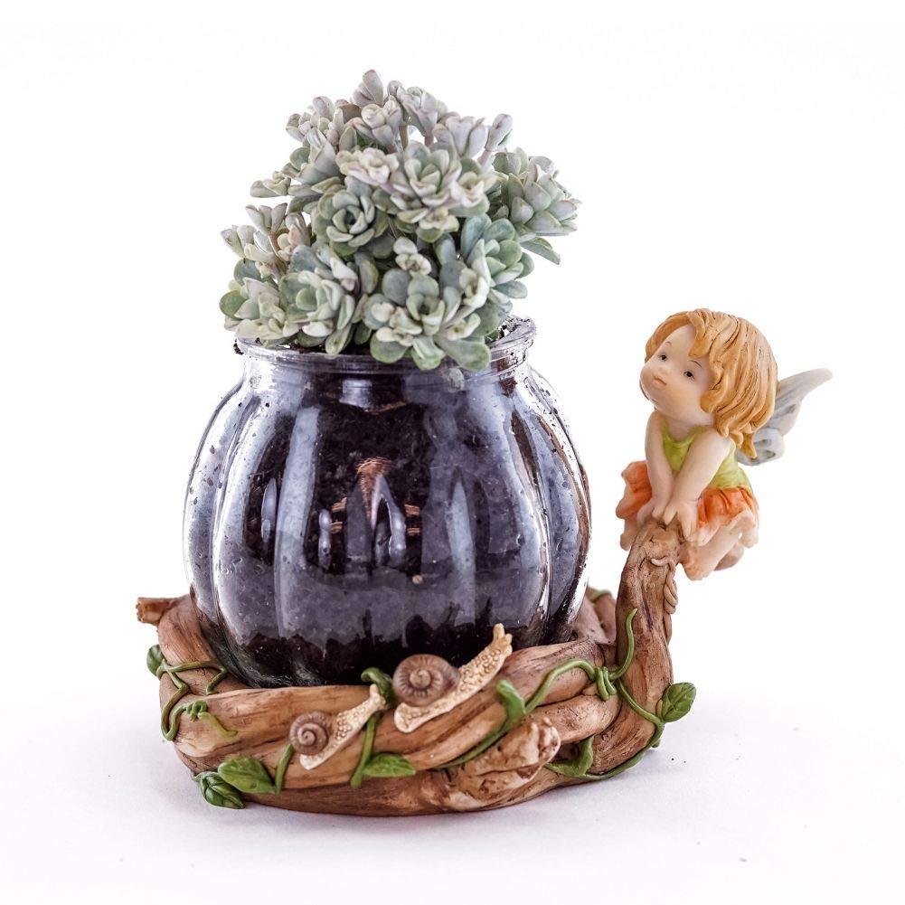 Fairy Garden Mini - Little Fairy Caroline - Succulent Planter