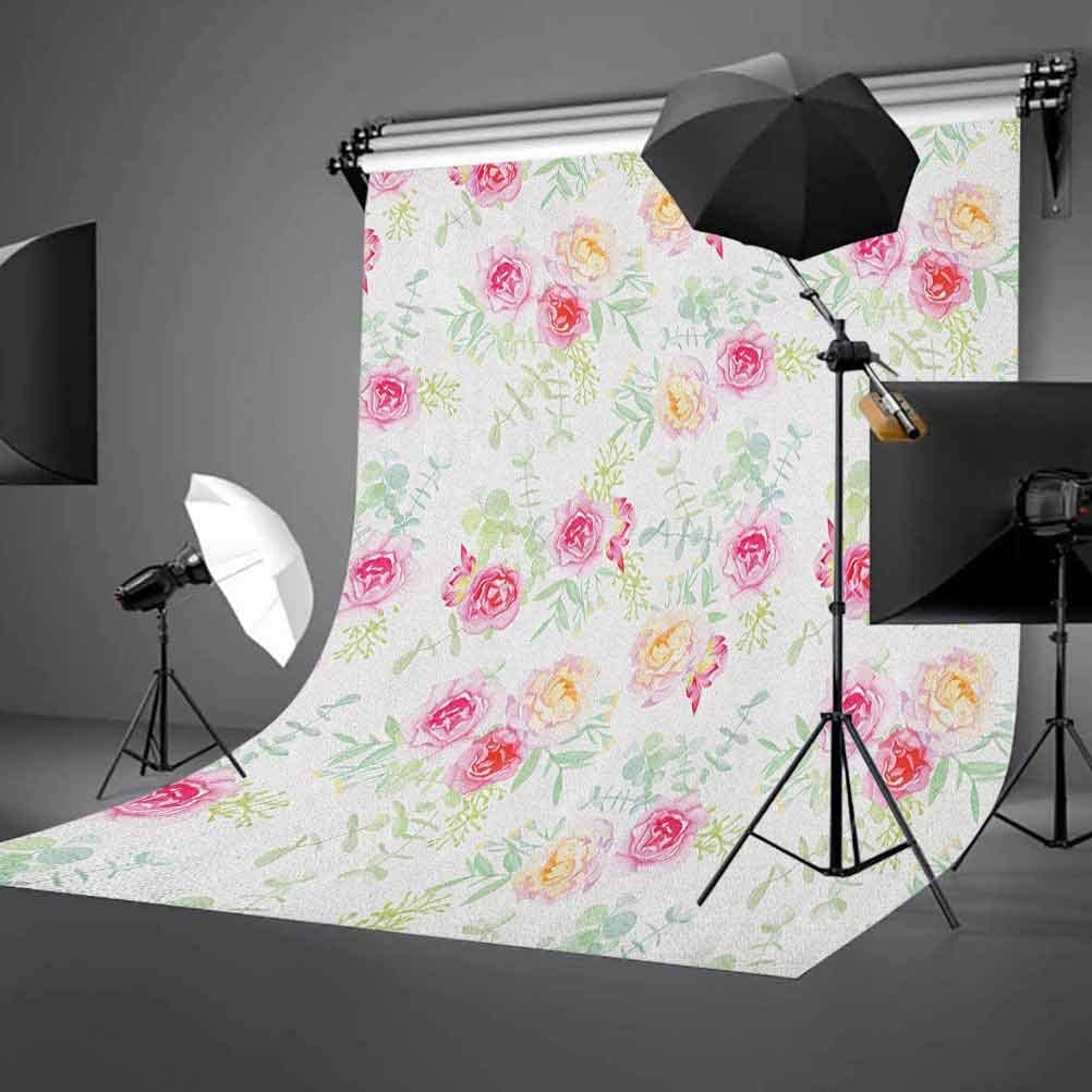 7x10 FT Geometric Vinyl Photography Background Backdrops,Traditional Polka Dots Pattern Retro Vibes European Culture Inspired Background for Photo Backdrop Studio Props Photo Backdrop Wall