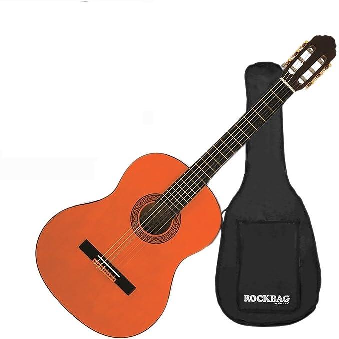 EKO CS - 10 x Guitarra clásica 4/4 + funda con cremallera ...