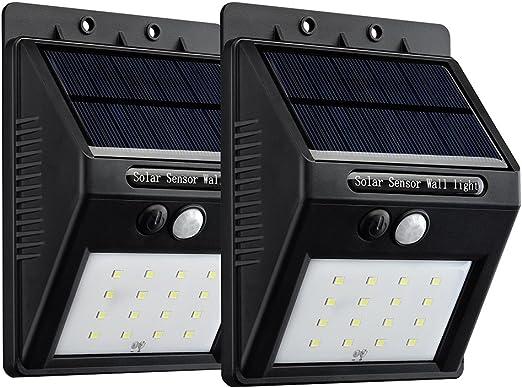 VicTsing 16 LEDs Luz Solar con Sensor de Movimiento Focos para ...