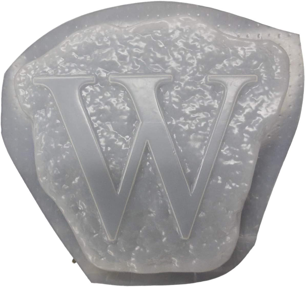Alphabet Letter M Stepping Stone Plaster or Concrete Mold 1215 Moldcreations