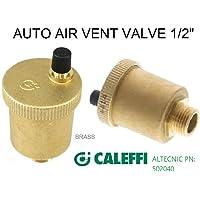 "Caleffi 5020 minical - Purgador minical media capacidad laton 1/2"""