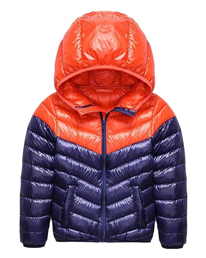 Niño Niña Unisex Espesar Anorak Invierno Chaqueta Abajo con Capucha Outwear Abrigo: Amazon.es: Ropa y accesorios