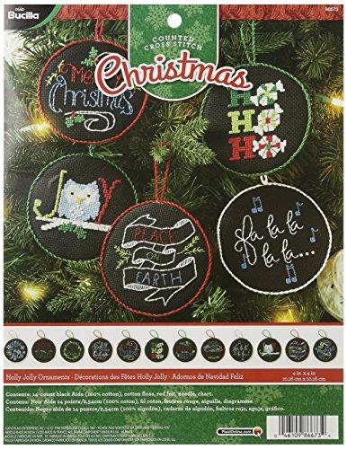 Bucilla Counted Stitch Ornament 86673 product image
