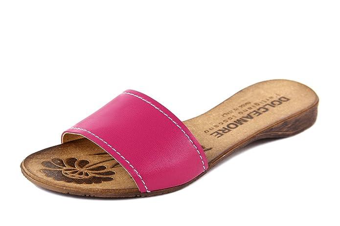 Dolce Amore - Damen - Sandale - Glattleder - DA013_Fuchsia_37 BtHRRvy