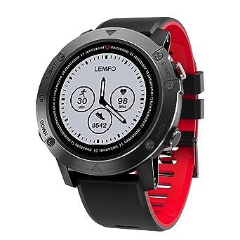 LEMFO 4.2 Inteligente Reloj Smartwatch Pulsera Inteligente con GPS ...