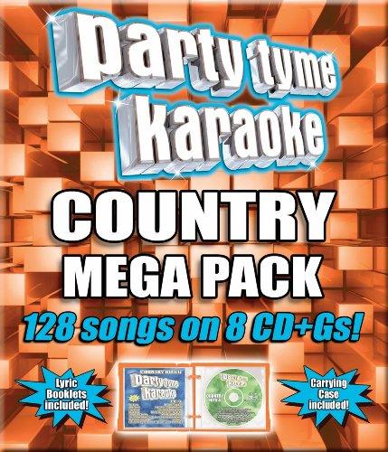 Party Tyme Karaoke - Country Mega Pack (128-Song Mega Pack) [8 (Rock Karaoke Music)