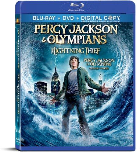 Percy Jackson Diebe Im Olymp Blu Ray Dvd Cover 2010 German