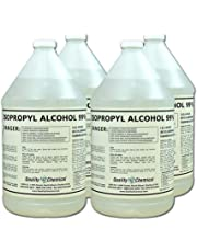 Quality Chemical Isopropyl Alcohol Grade 99% Anhydrous (IPA)-4 Gallon case