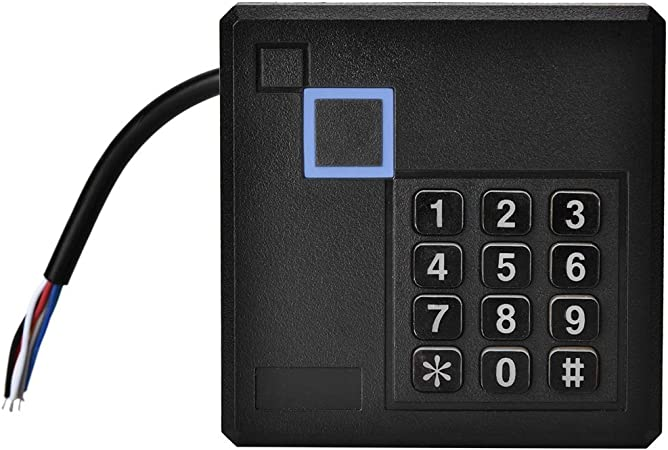 Wiegand 26//34 Access Control Card Reader For Home//Apartment//Factory Insurance System ID Reader 125 KHz //13.56MHZ RFID ID Card Reader