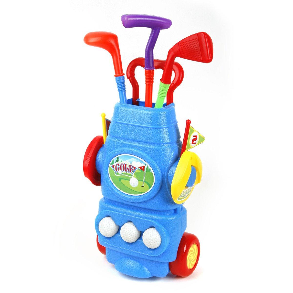 Ojam Swing 'N Play Kids Toy Golf Set (9) (9 Piece) by Ojam (Image #2)