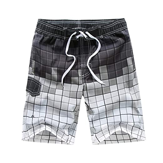 158a9d0caa Image Unavailable. Image not available for. Color: 7 Swim Shorts, Mens  Running Shorts with Liner,Swimming Shorts,Men's Fashion Casual