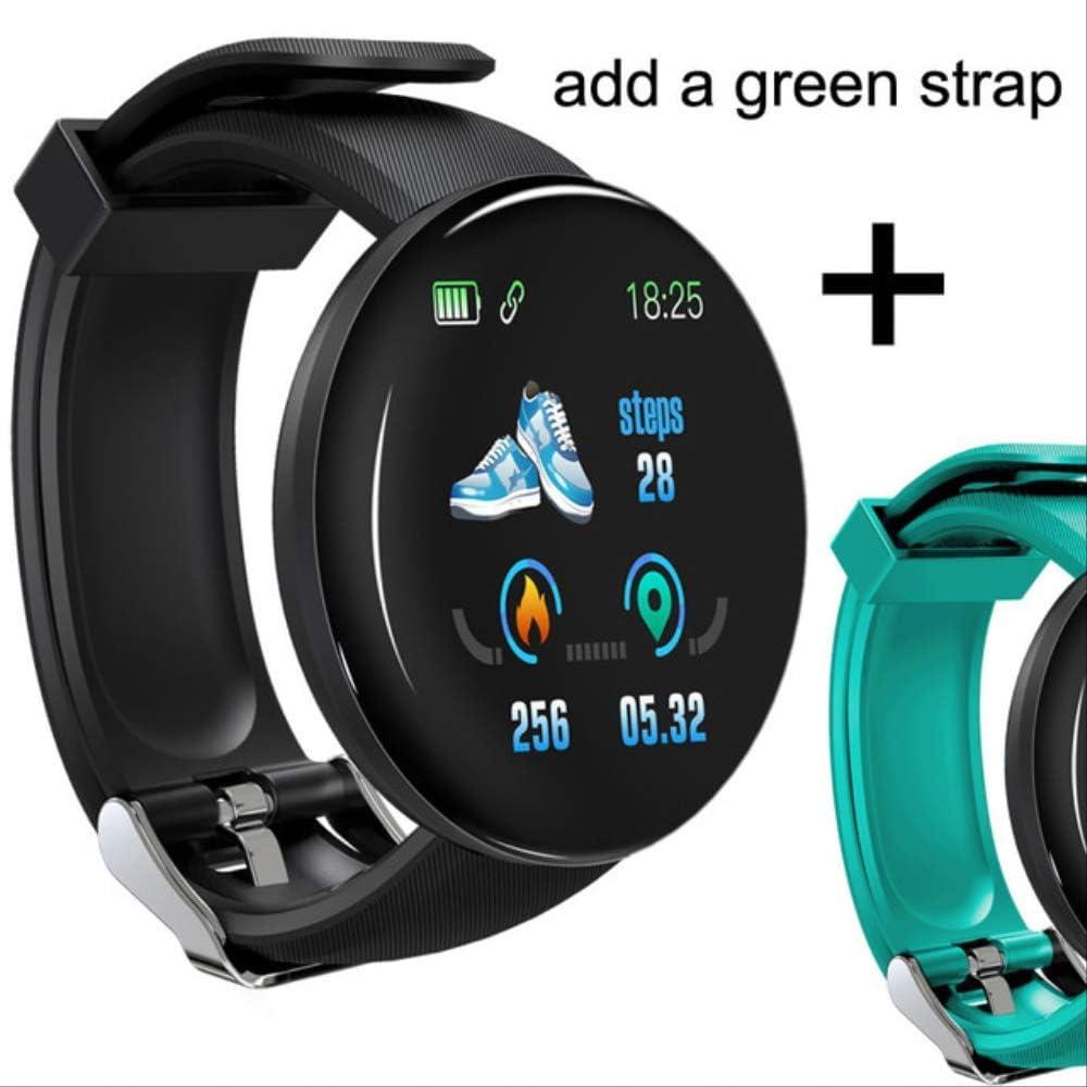 Reloj Inteligente Bluetooth Hombres Presión Arterial Reloj Inteligente Redondo Reloj De Mujer Impermeable Rastreador Deportivo Whatsapp para Android iOS