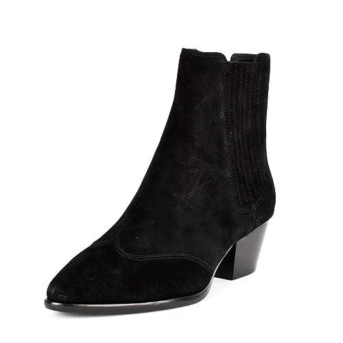 6198d88398bf Ash Hook BIS Ankle Boots Black Suede 37 Black.  Amazon.co.uk  Shoes ...