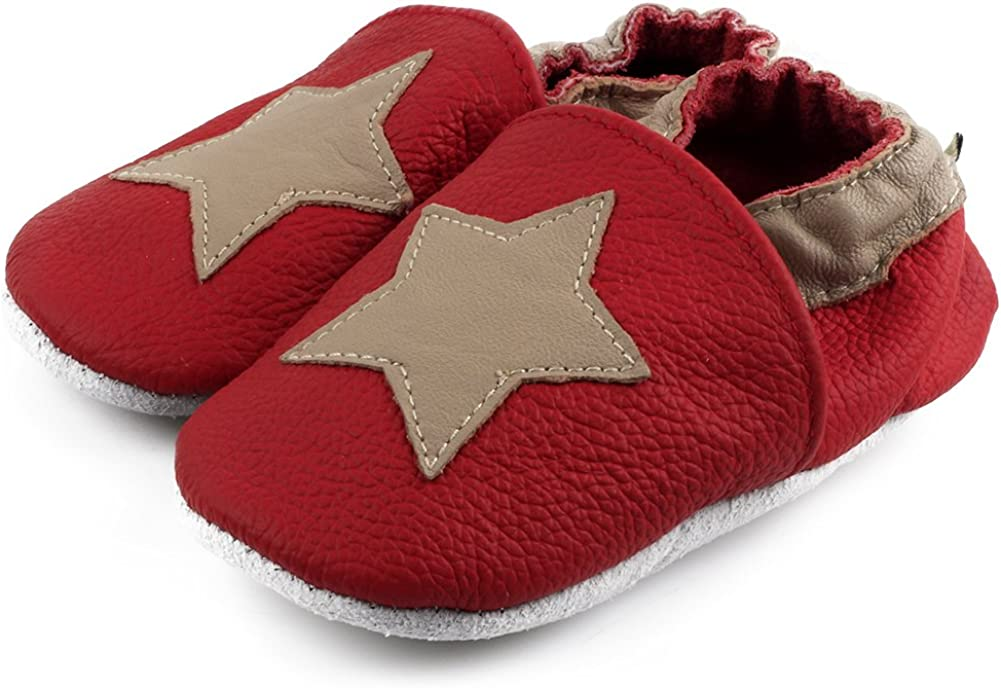 FreeFisher Baby Girls//Boys Winter Soft Leather Baby Shoes Toddlers Shoes in Different Design