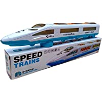 ASU EMU Speed Train Trail Blazer with 3D Lights & Music for Kids