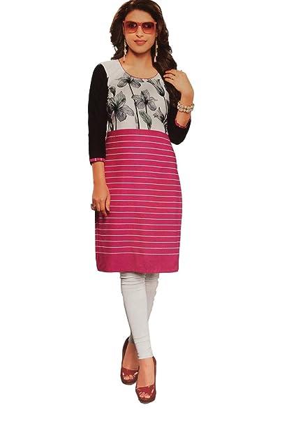 09f2322361cda Jia Fashions Women's Cotton Kurti: Amazon.in: Clothing & Accessories