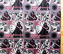 キャラクター生地・USAコットン・スターウォーズ(フォースの覚醒)(ネル生地・グレー)#11の商品画像