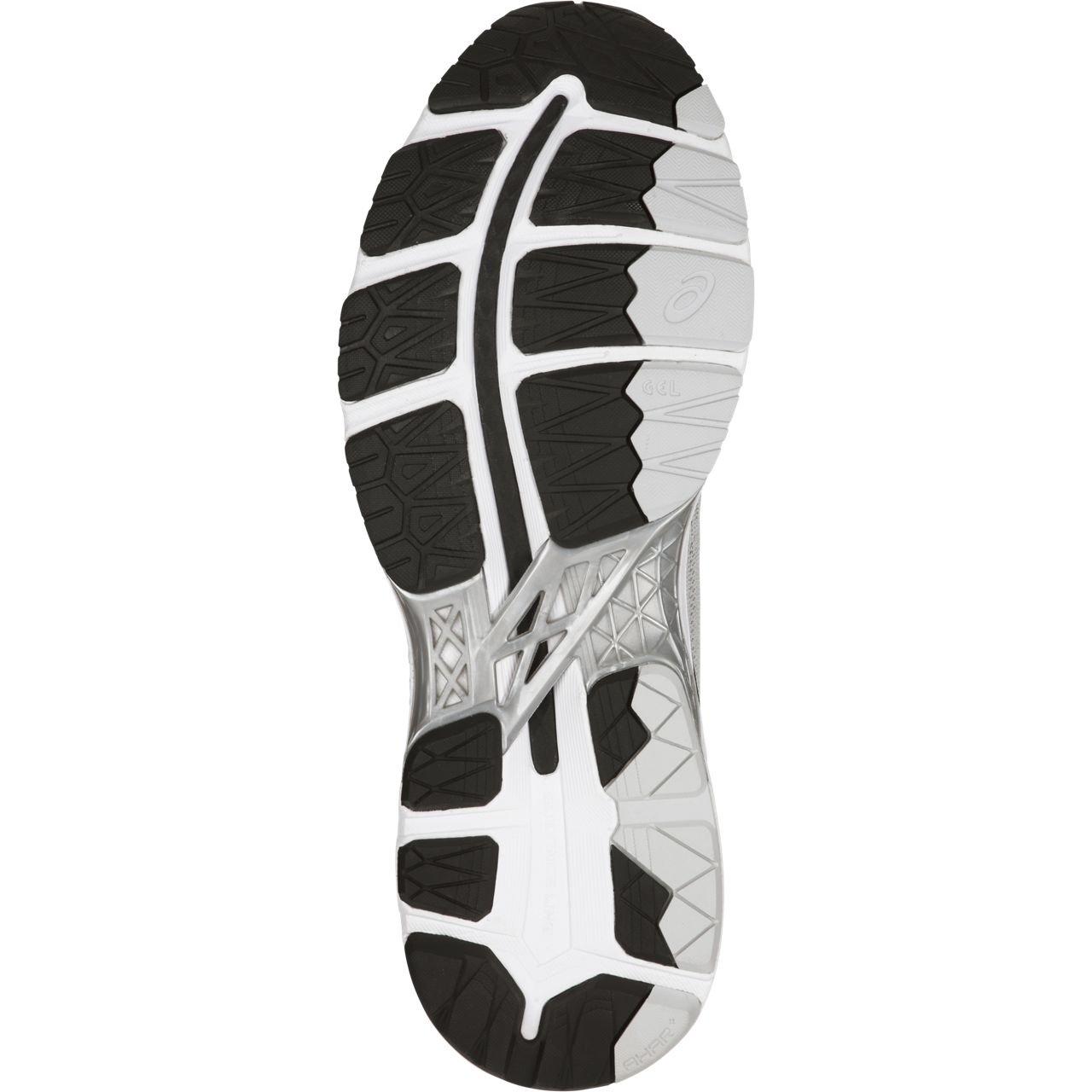 ASICS Mens Gel-Kayano 24 Running Shoe, Silver/Black/Mid Grey, 6 Medium US by ASICS (Image #5)