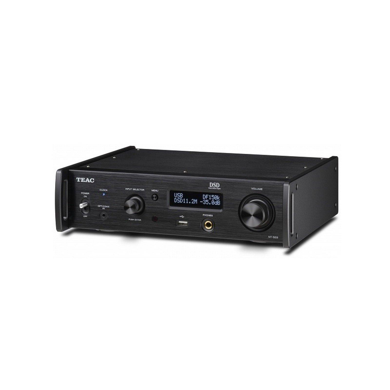 Teac NT-503-B | Dual Monaural USB DAC Bluetooth Network Player Black by Teac